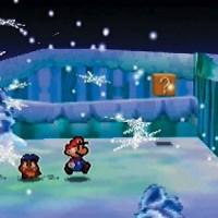 Paper Mario neige