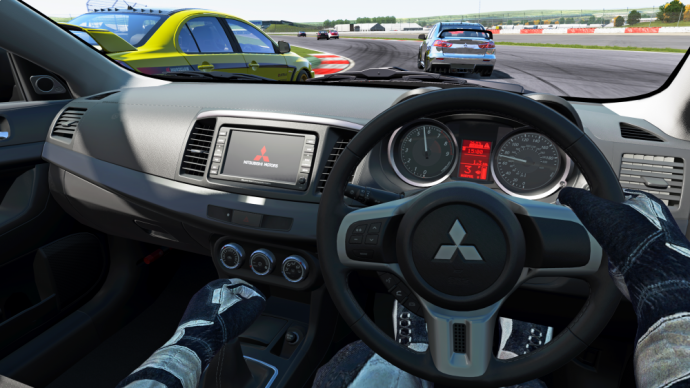 Project CARS Cockpit
