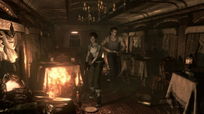 Resident Evil 0 HD Remastered Billy Rebecca
