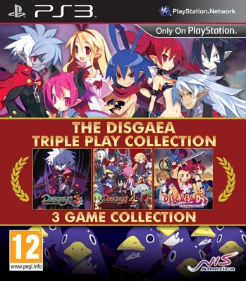 The Disgaea Triple Play Collection jaquette