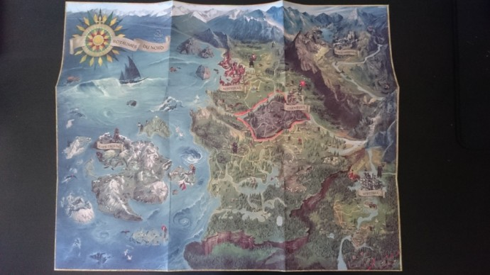 The witcher 3 wild hunt carte du jeu