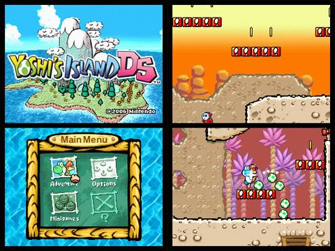 Yoshi's Island DS sur Wii U