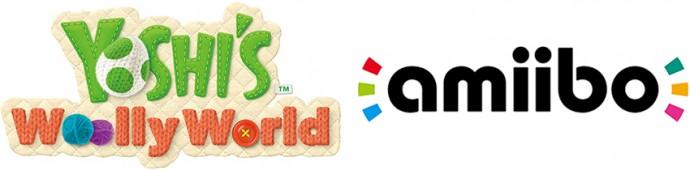 Yoshi's Woolly World amiibo logo