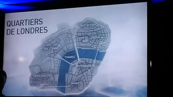 Assassin's Creed Syndicate, une vue sur les cartes