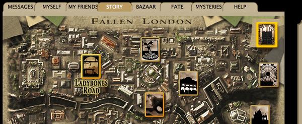 Fallen London Londres