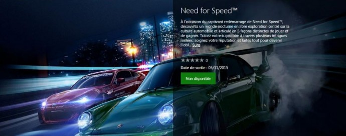 Need for Speed: dates et infos