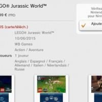 LEGO Jurassic World : infos et images pour les consoles Nintendo LightninGamer (02)