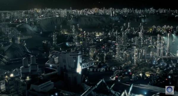 Anno 2205 - vue de la ville