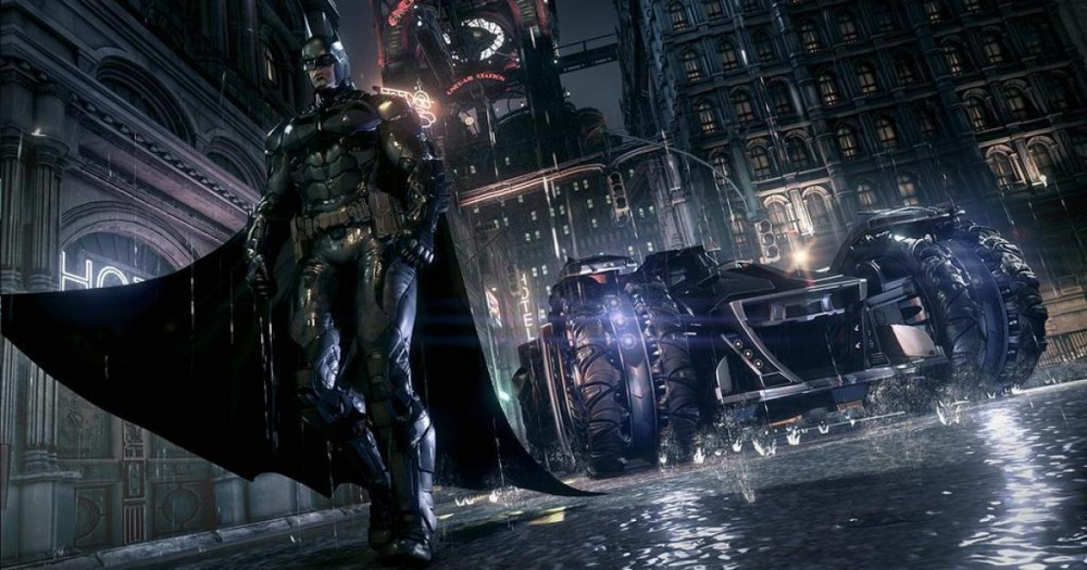 La batmobile dans Batman Arkham Knight