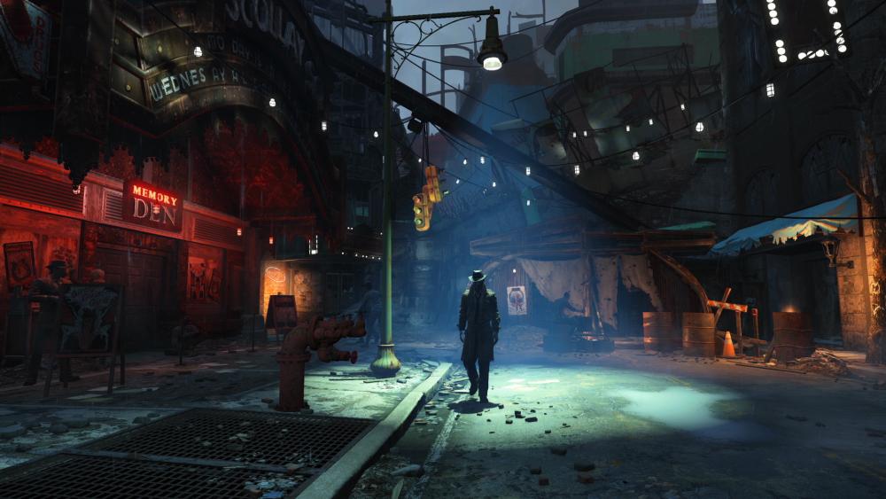Des screenshots pour Fallout 4 LightninGamer 01 - Ville