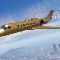 GTA ONline Buckingham Luxor Deluxe en or massif