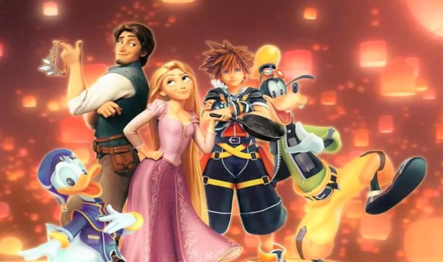 Raiponce dans Kingdom Hearts