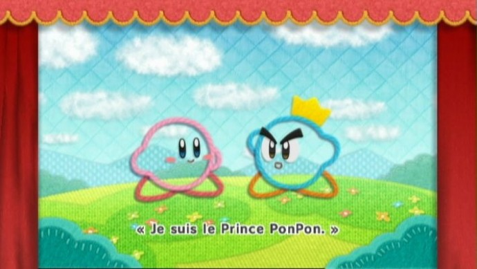 Kirby rencontre le Prince Ponpon