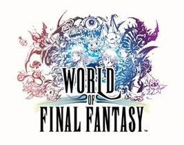 Le logo de World of Final Fantasy