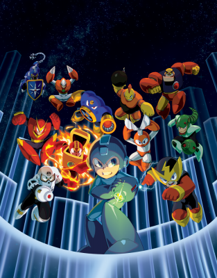 Mega Man Legacy Collection Mega Man