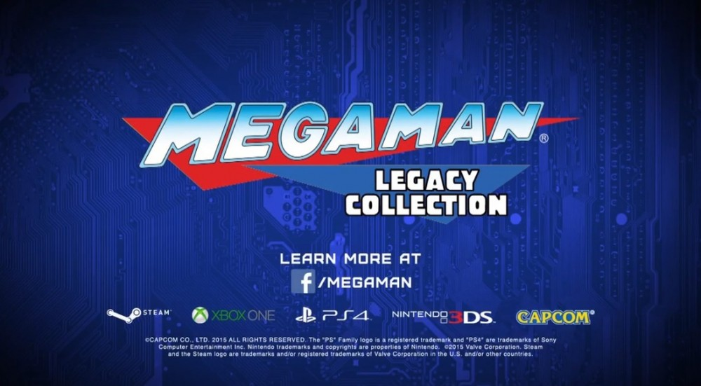 Mega Man Legacy Collection logo