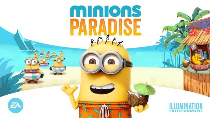 Minions Paradise le nouveau jeu disponible sur Android et iOS dévoilé par Electronic Arts