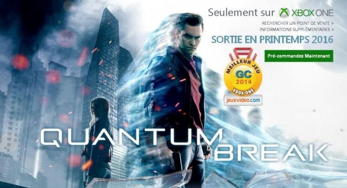 Quantum Break : une date de sortie approche
