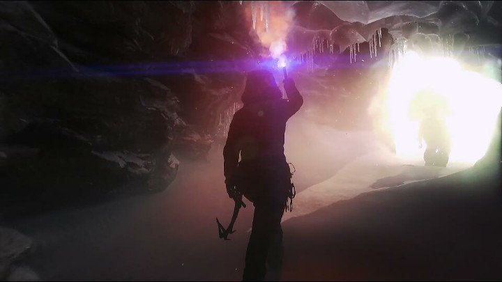 Rise of theTomb raider - grotte