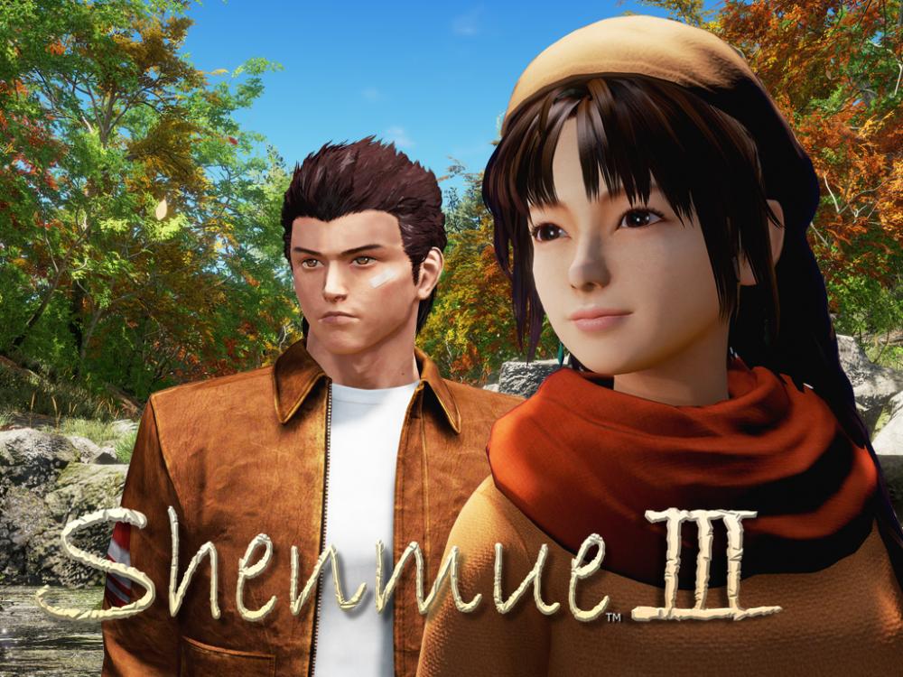 Ryo et Shenhua dans Shenmue 3