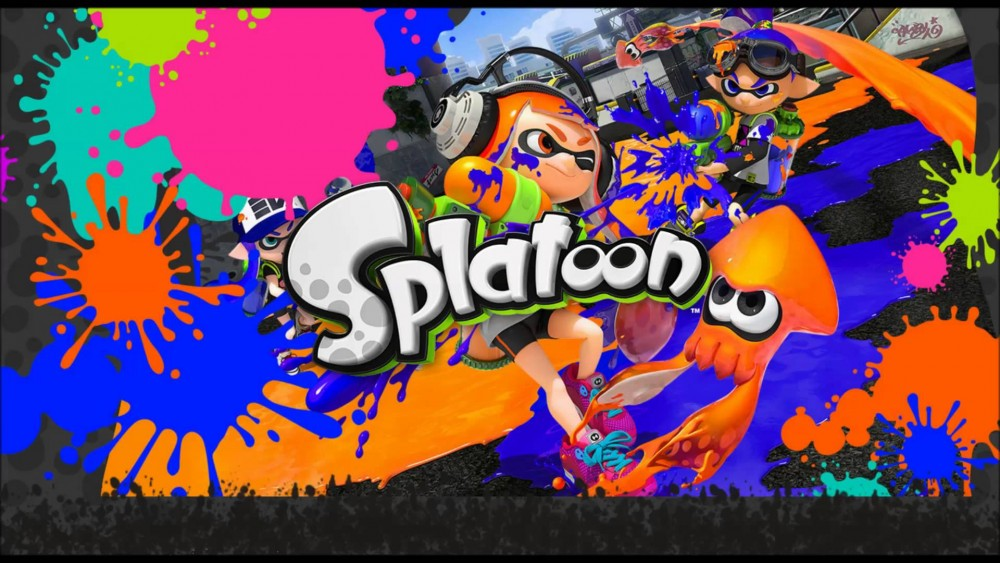 Splatoon artwork héros et poulpe