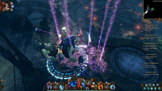 Test The Incredible Adventures of Van Helsing III 03 - Moteur