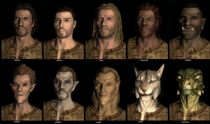 The Elder Scrolls Online - Tamriel Unlimited - races