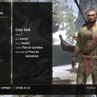 The Elder Scrolls Online - Tamriel Unlimited personnage