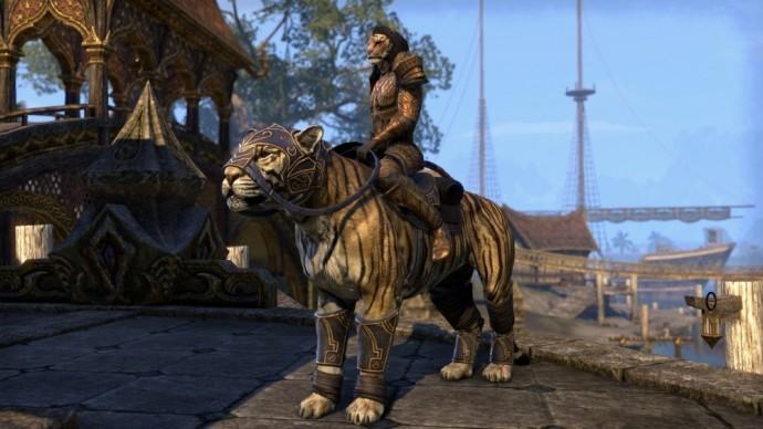 The Elder Scrolls Online - Tamriel Unlimited personnage et monture