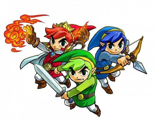 The Legend of Zelda Tri Force Heroes héros