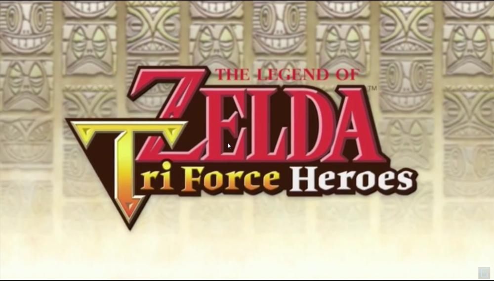 The Legend of Zelda Tri Force Heroes