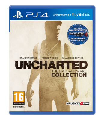 Uncharted Collection - Jaquette