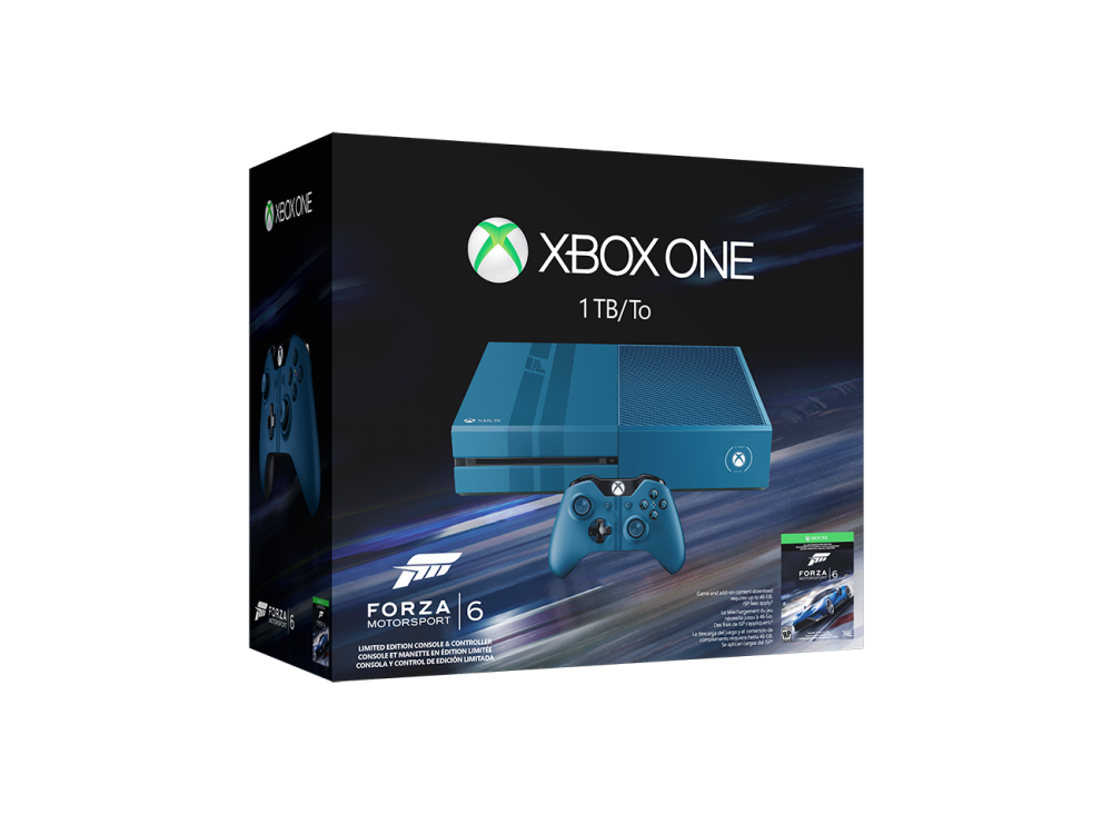 une xbox one 1to dition forza motorsport 6 annonc e lightningamer. Black Bedroom Furniture Sets. Home Design Ideas