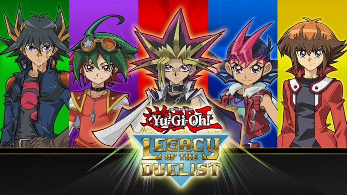 Yu Gi Oh! Legacy of the duelist - personnages