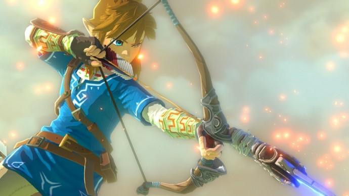 Link encoche son arc