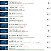 Batman Arkham Knight, la liste des succès LightninGamer (04)