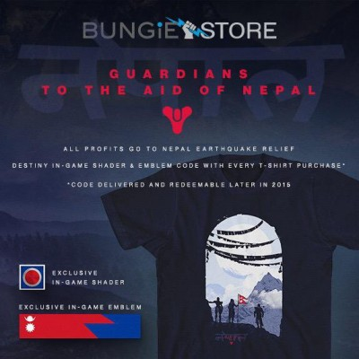destiny t-shirt nepal