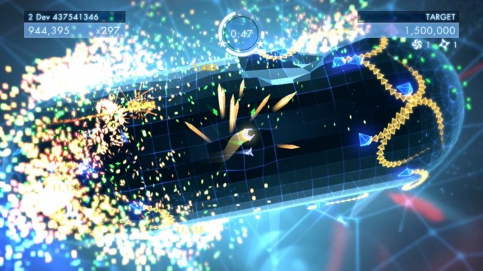 Geometry Wars 3 shoot'em up