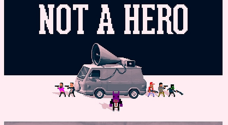 Not a Hero logo