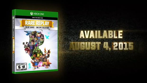 Rare Replay disponible le 4 août 2015