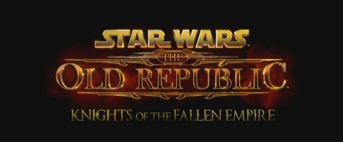Le logo de Star Wars The Old Republic: Knights of the Fallen Empire