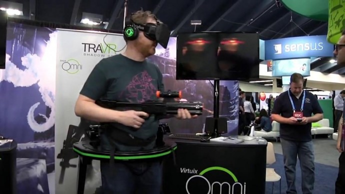 Immersion complète en réalité virtuelle
