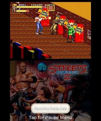 3D Streets of Rage II salle d'arcades
