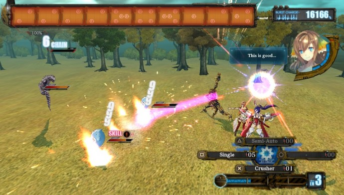 Ar Nosurge Plus combat
