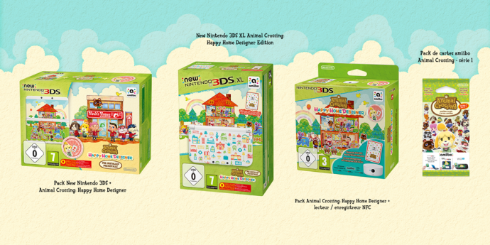 Animal Crossing Happy Home Designer Bundle