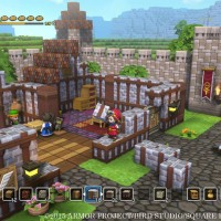 dragon quest builders village