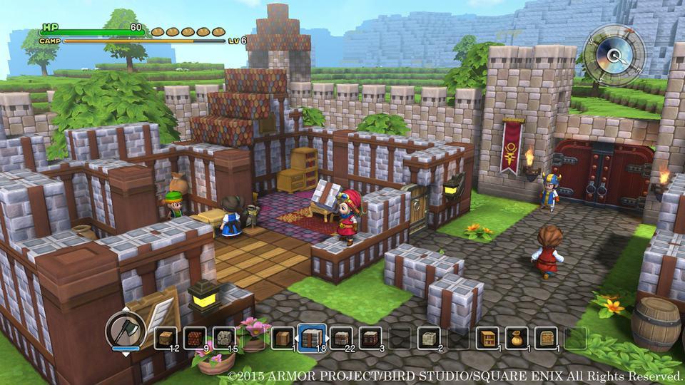 dragon quest builders village