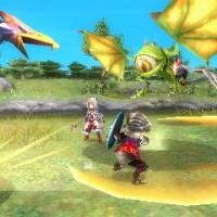 Un combat dans Final Fantasy Explorers