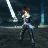 Squall dans Final Fantasy explorers