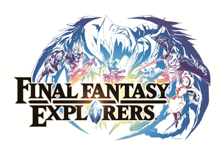 Final Fantasy Explorers Logo